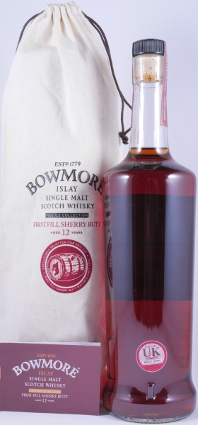 Bowmore 2002 12 Years Feis Ile 2015 First Fill Oloroso Sherry Butt Cask 2214 Islay Single Malt Scotch Whisky 59,6%