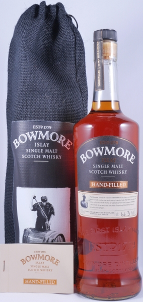 Bowmore 2006 10 Years First Fill Barrique Wine Cask 848 Islay Single Malt Scotch Whisky Cask Strength 61.3%