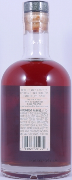Buffalo Trace 1988 18 Years Zinfandel American Oak Bourbon Whiskey 3rd Release 2007 Experimental Collection 45.0%