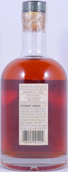 Buffalo Trace 1994 14 Years Fine Grain Oak Bourbon Whiskey 7th Release 2009 Experimental Collection 45.0%