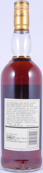 Macallan 1971 18 Years Sherry Wood Highland Single Malt Scotch Whisky 43.0%
