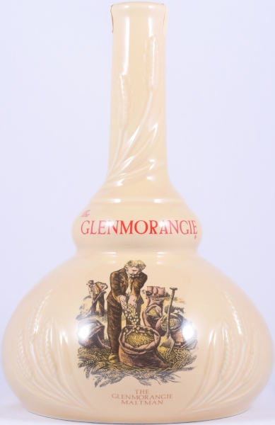 Glenmorangie 18 Years Maltmans Special Reserve Cream Pot Still Shaped Decanter Highland Single Malt Scotch Whisky 43,0%