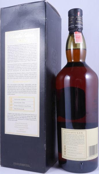 Lagavulin 1989 16 Years Distillers Edition 2005 Special Release lgv.4/493 Islay Single Malt Scotch Whisky 43,0% 1,0L