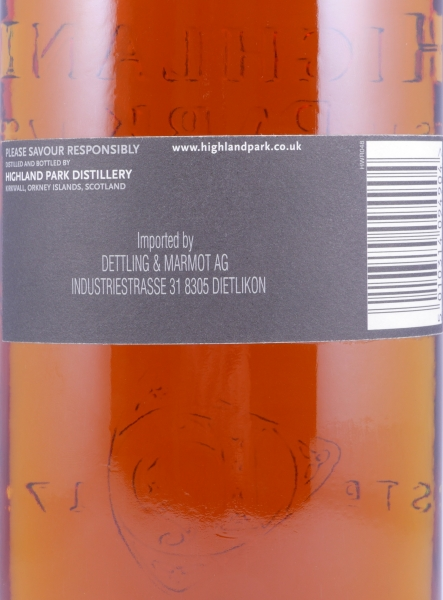 Highland Park 22 Years Single Malt Scotch Whisky 48.1% Vol. Specially Private Bottling für Hotel Waldhaus am See