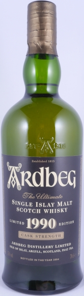 Ardbeg 1990 13 Years Islay Single Malt Scotch Whisky Special Release No Back Label Cask Strength 55,0%