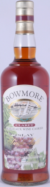 Bowmore Claret Bordeaux Wine Casked Limited Edition Islay Single Malt Scotch Whisky Cask Strength 56.0%