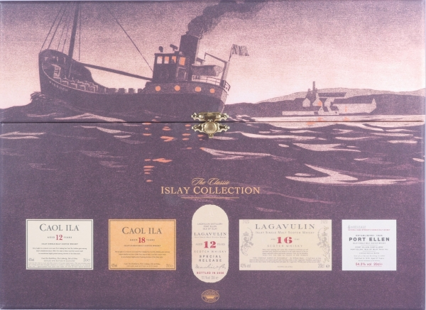 The Classic Islay Collection 2006 Islay Single Malt Scotch Whisky 5x 0,2L mit Port Ellen 1978 27 Years 6th Release