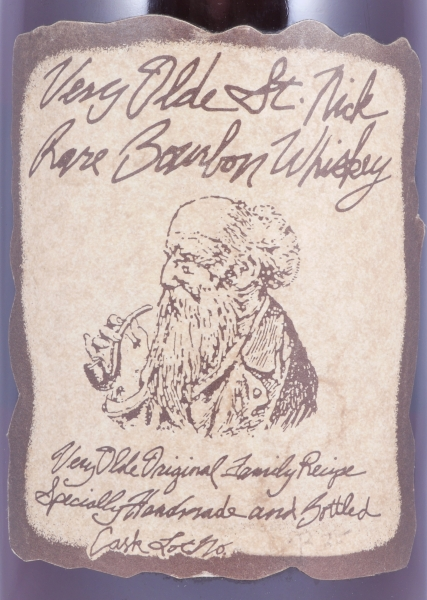 Very Olde St. Nick 25 Years Very Rare Ancient Estate Cask Lot B35 Handmade Kentucky Straight Bourbon Whiskey 40.6%