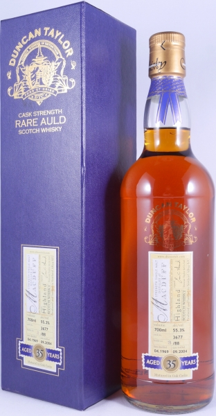 Macduff 1969 35 Years Oak Cask 3677 Highland Single Malt Scotch Whisky Duncan Taylor Rare Auld Edition 55,3%