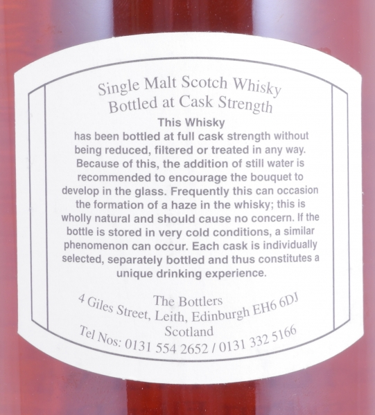 Port Ellen 1981 19 Years Refill Sherry Butt Cask 1549 Islay Single Malt Scotch Whisky Cask Strength 60.4%