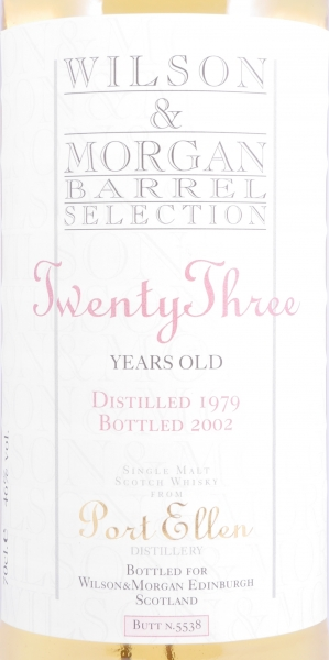 Port Ellen 1979 23 Years Sherry Butt Cask 5538 Islay Single Malt Scotch Whisky Cask Strength 46,0%