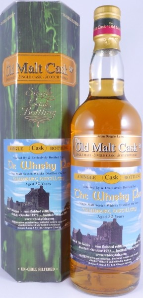 Talisker-Talimburg 1972 32 Years Rum Finished Refill Hogshead Cask No. 1568 Isle of Skye Single Malt Scotch Whisky 45.2%