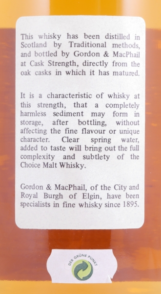 Port Ellen 1978 16 Years Cask 2697 Islay Single Malt Scotch Whisky Gordon and MacPhail Cask Strength Edition 61.6%