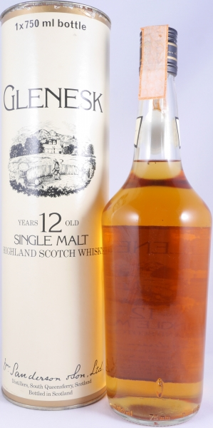 Glenesk 12 Years Highland Single Malt Scotch Whisky Black Screw Cap 40,0%
